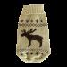 Wolters | Strickpullover Elch in Beige/Braun | Strick,braun 1