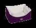 Nobby | Komfort Bett eckig ARUSHA lila | Plüsch,lila 1