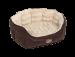 Nobby | Komfort Bett oval NATAL braun/beige | Kunststoff,braun,beige 1