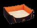 Nobby | Komfort Bett eckig DAVIA orange | Stoff,orange 1