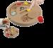 SILVIO DESIGN | Game Plate | Holz,braun 1