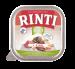 Rinti   Bio-Kennerfleisch + Rind   Glutenfrei,Bio,Getreidefrei,Rind,Nassfutter,Schälchen 1