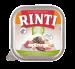 Rinti   Bio-Kennerfleisch + Pute   Bio,Getreidefrei,Glutenfrei,Geflügel,Schälchen,Nassfutter 1