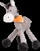 Trixie | Esel | Plüsch,grau 1