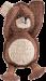 Trixie | Teddybär | Stoff,braun,weiß 1