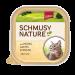 Schmusy | Nature mit Huhn, Lachs & Pasta | Fisch,Geflügel,Schälchen,Nassfutter 1