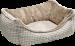Hunter | Tiersofa Astana in Braun | Stoff,beige,braun 1