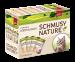 Schmusy | Nature Multipack | Kaninchen,Mix,Rind,Geflügel,Wild,Fisch,Nassfutter 1