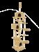 SILVIO DESIGN | Kratzbaum Rocky in Beige | Holz,Sisal,beige 1
