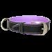 Wolters | Halsband Terranova Fettleder in Schwarz/Flieder | Leder,schwarz 1