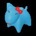 Wolters | PicoBella Gassi-Box in Aqua | Kunststoff,blau 1