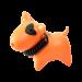 Wolters | PicoBello Gassi-Box in Mango/Schwarz | Kunststoff,orange 1