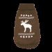 Wolters | Strickpullover mit Elch für Mops&Co in Braun/Weiß | Strick,braun,weiß 1
