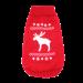 Wolters | Strickpullover mit Elch für Mops&Co in Rot/Weiß | Strick,rot 1
