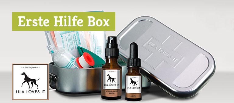Erste Hilfe Box für Hunde