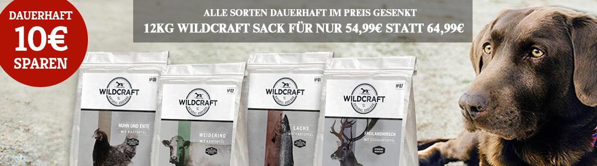 Wildcraft Trockenfutter dauerhaft reduziert