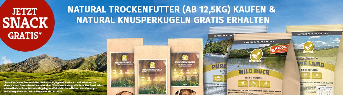 Hundeland Natural Snack Aktion