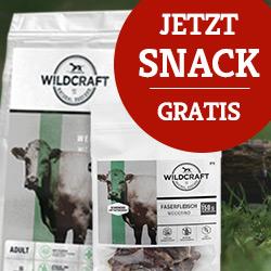 Wildcraft Snack Faserfleisch gratis