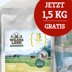 Wildes Land Soft Trockenfutter Sale