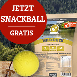 Natural Aktion - Snackball gratis