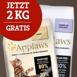 Applaws Trockenfutter 2 kg gratis