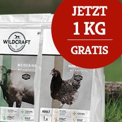 Wildcraft Trockenfutter Sale 1 kg gratis