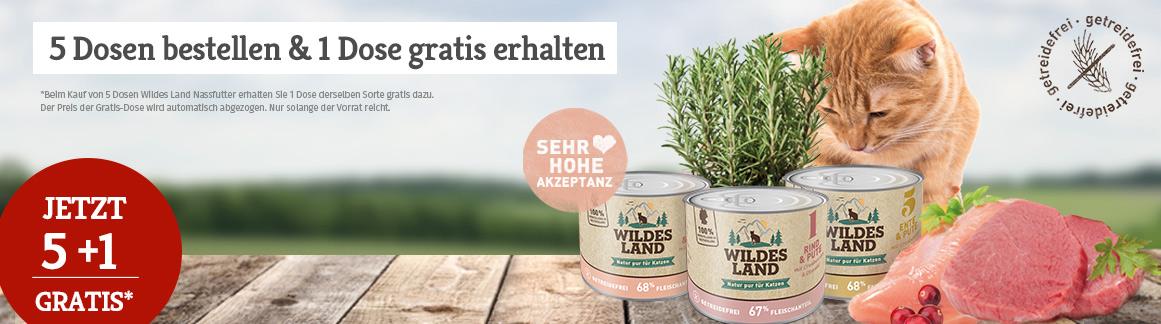 Wildes Land Nassfutter Sale 5+1