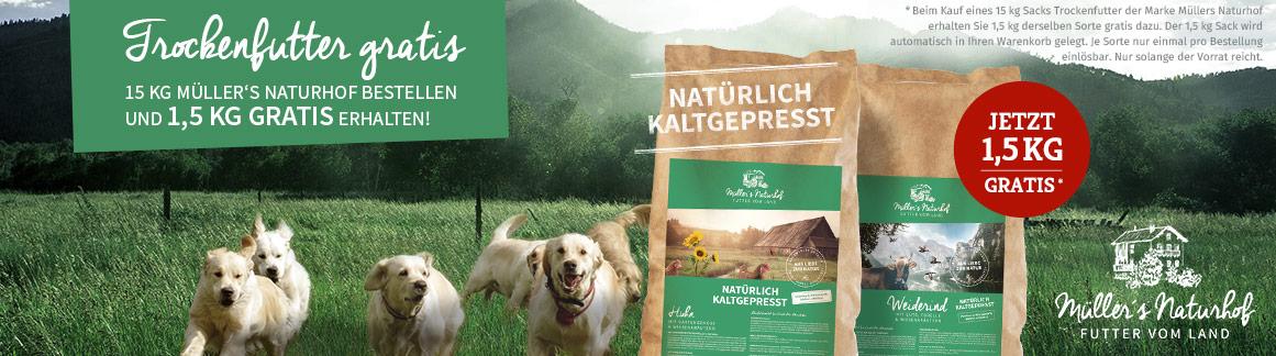 Müllers Naturhof Sale 1,5 kg gratis