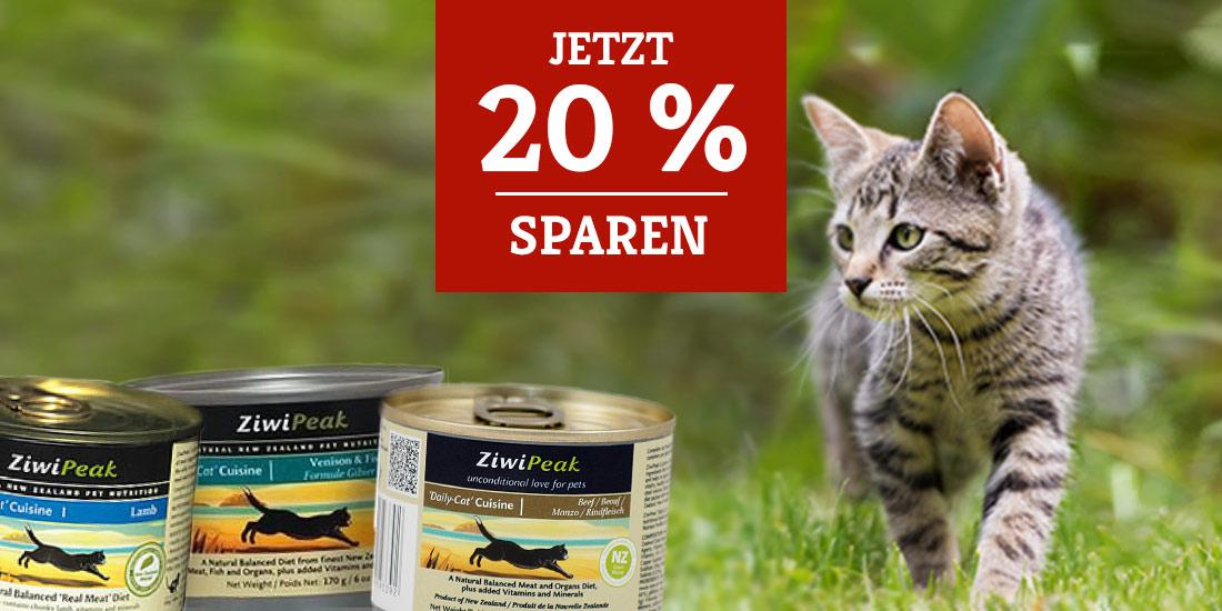 ZiwiPeak Katzenfutter Sale 20%