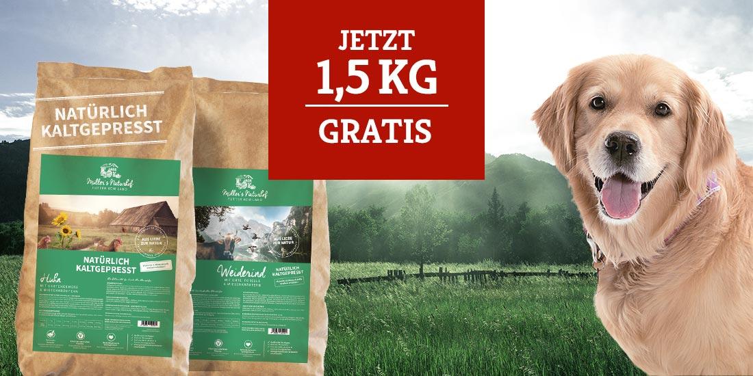 Aktion Müllers Naturhof 1,5kg Gratis