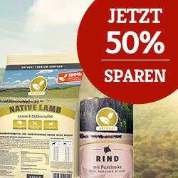 Natural Aktion - 50% sparen