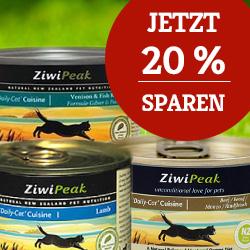 ZiwiPeak Katzenfutter 20% Aktion