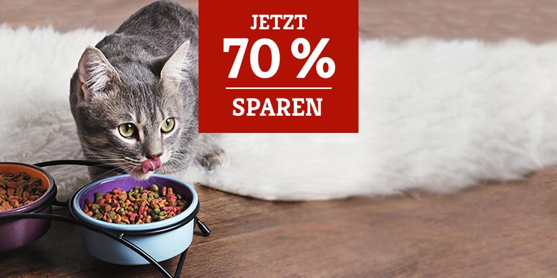 Katzenfutter stark reduziert