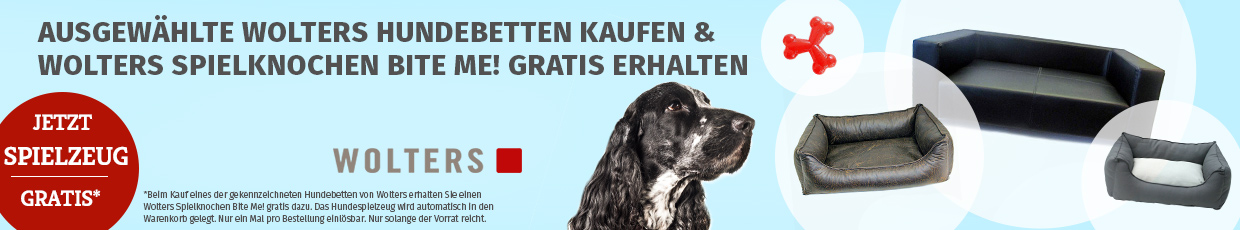 Wolters Aktion - Wolters Hundespielzeug gratis