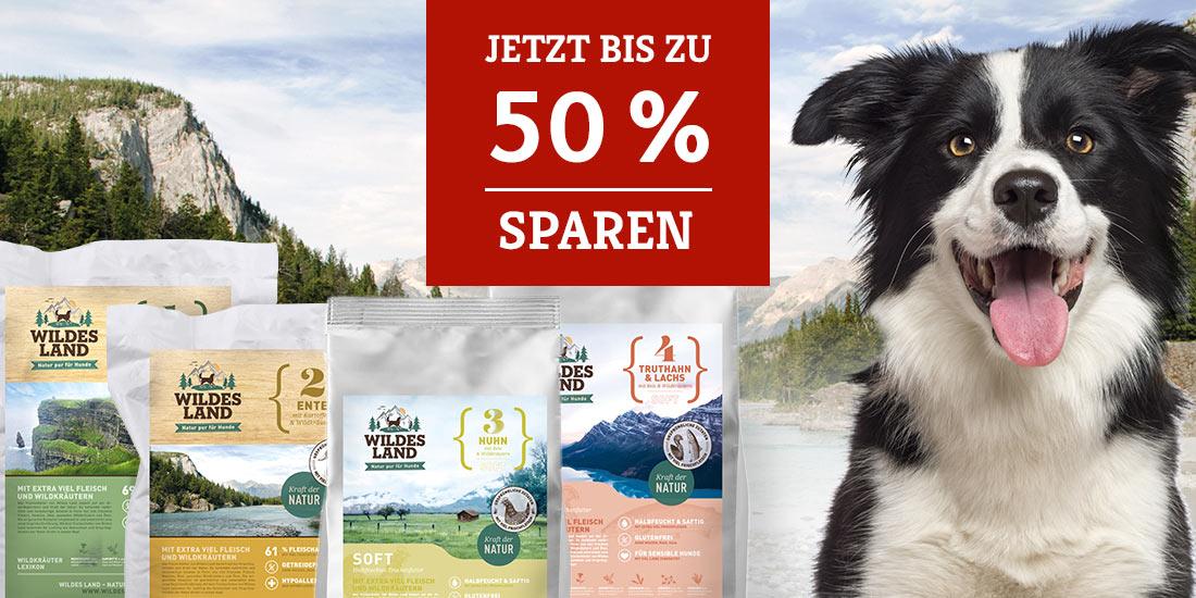 Wildes Land Trockenfutter/Softfutter Aktion