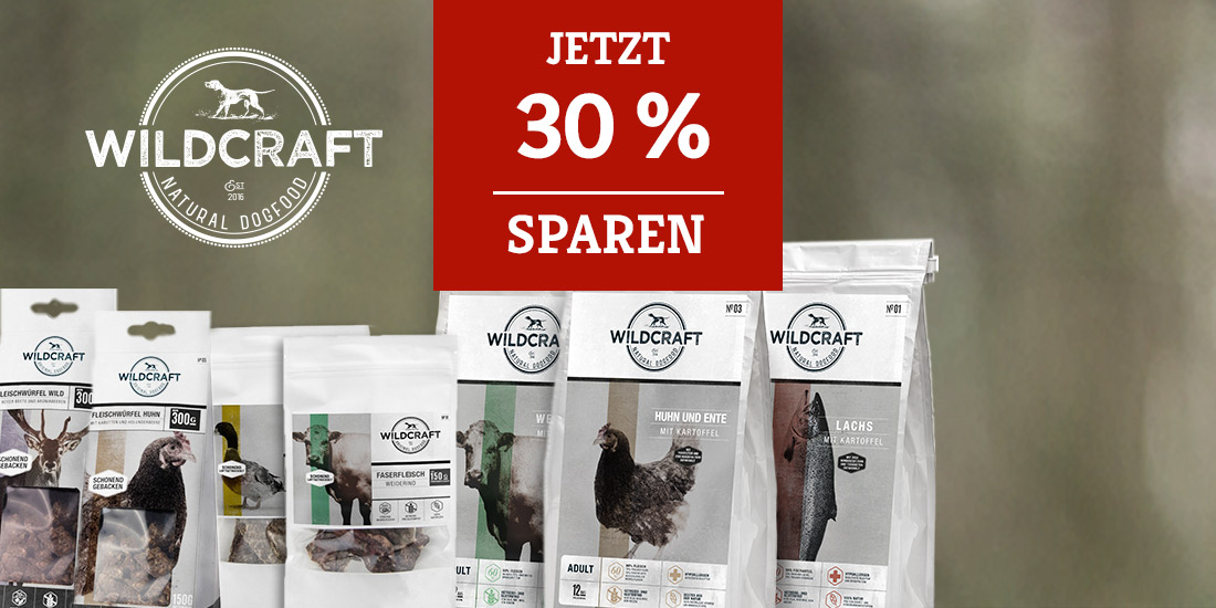 Wildcraft 30% Erstbestellerrabatt
