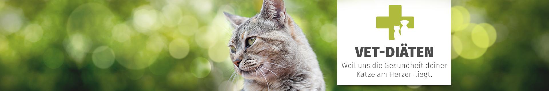 Diätfutter für Katzen