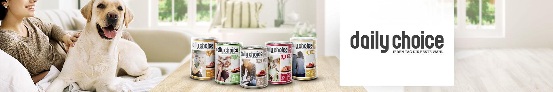 daily choice Nassfutter für Hunde