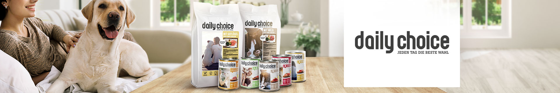 daily choice Hundefutter & Hundezubehör