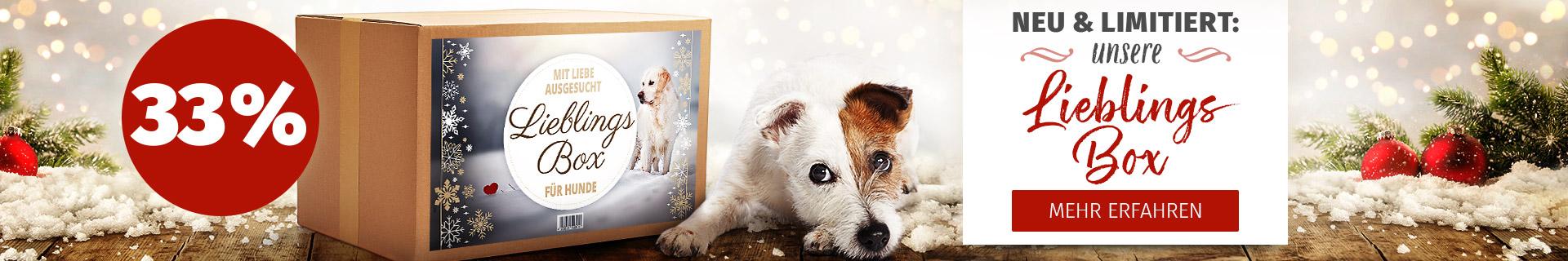 Lieblings Box für Hunde