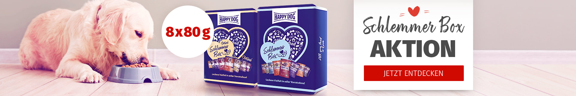 Happy Dog - Schlemmerbox