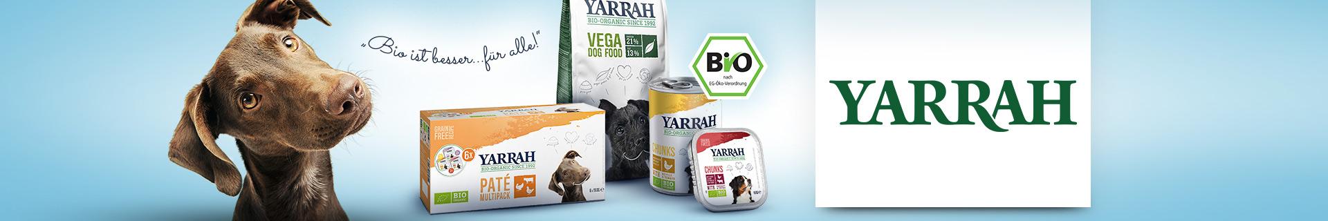 Yarrah Markenshopbanner für Hund