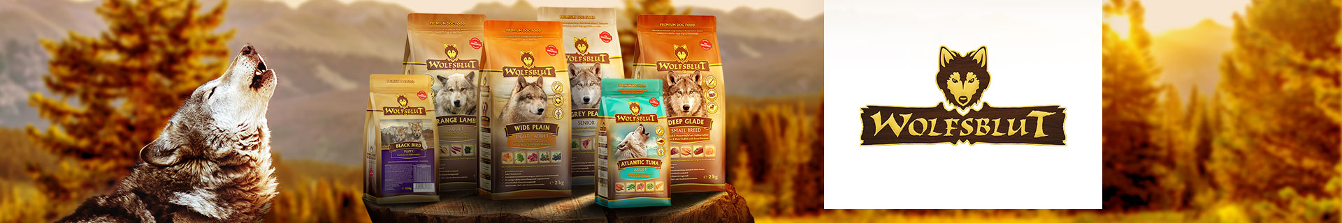 Wolfsblut Trockenfutter für Hunde