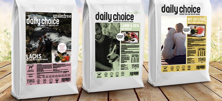 daily choice Trockenfutter Hund