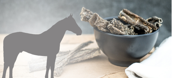 Kausnacks mit Pferd