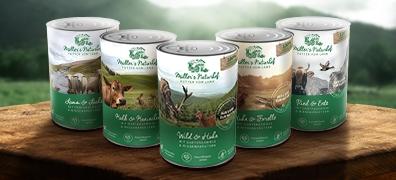 Müller's Naturhof Nassfutter ohne Getreide Hund