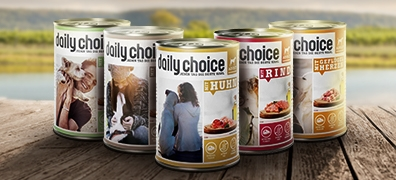 daily choice Nassfutter Adult Hund
