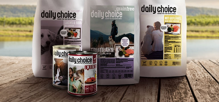 daily choice Hundefutter - Hund