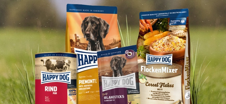 zu allen Happy Dog Produkten