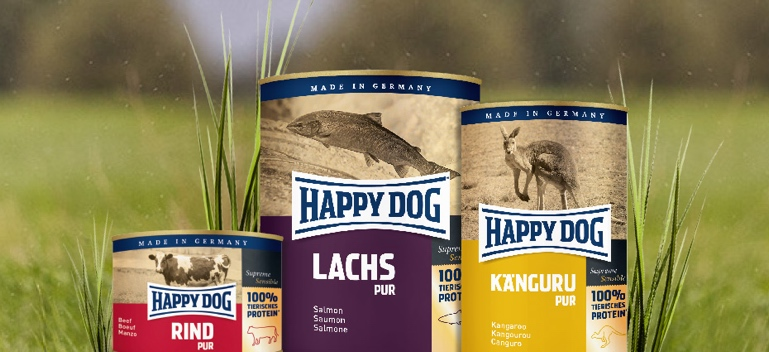 Zu Happy Dog Nassfutter